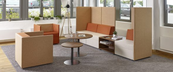 Loungesofa Places in Orange von Febrü