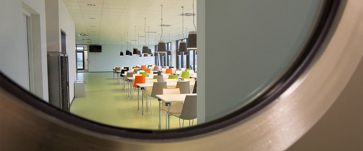 Cafeteria im Open Space Büro