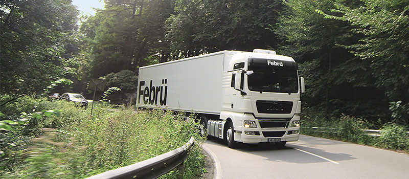 Febrü Produkttransport